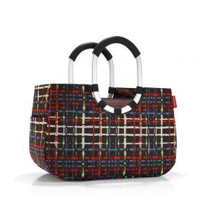 Sac Shopping modèle Loopshopper taille M motif wool multicolore