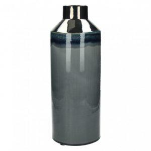 Vase céramique modèle rétrochic couleur argent grand modèle