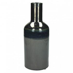Vase céramique modèle rétrochic couleur argent moyen modèle