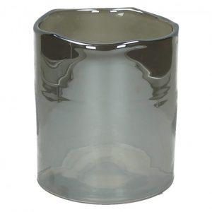 Vase photophore couleur argenté petite taille