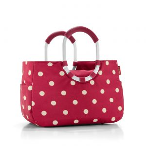 Sac Shopping modèle Loopshopper taille M ruby couleur rouge