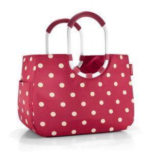 Sac Shopping modèle Loopshopper taille L ruby couleur rouge