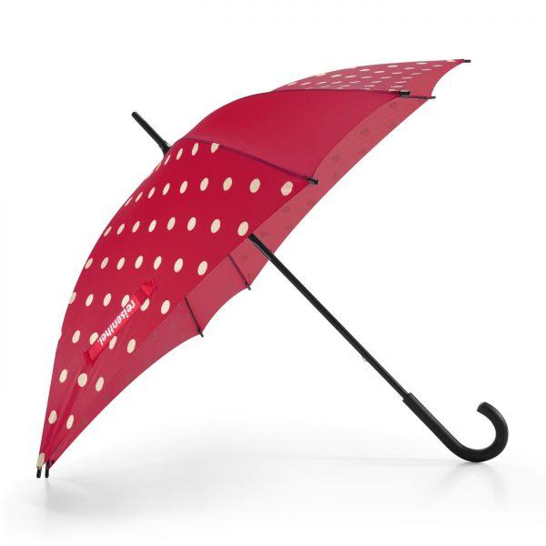 Parapluie résistant modèle ruby couleur rouge