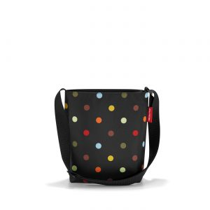Sac à bandoulière modèle Shoulderbag taille S couleur pois multicolore