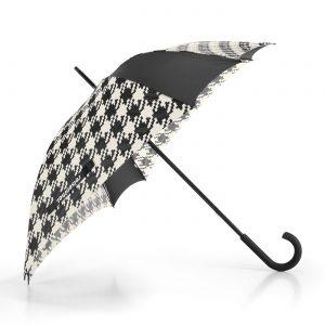 Parapluie résistant motif fifties couleur noir