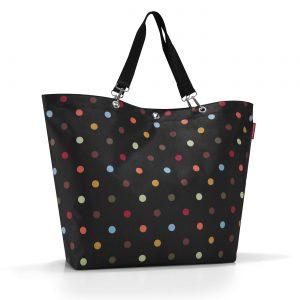 Sac modèle Shopper XL couleur pois multicolore