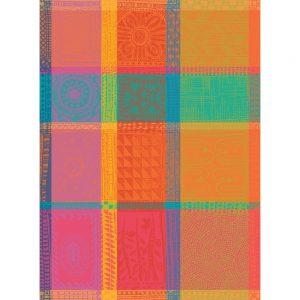 torchon mille wax multicolore