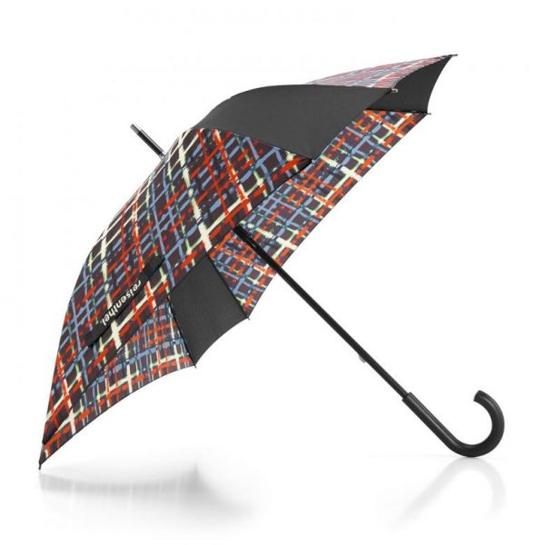 Parapluie résistant motif wool multicolore