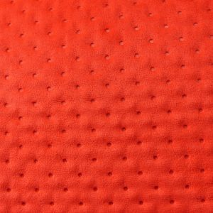 Matelassé pointillé couleur Rouge