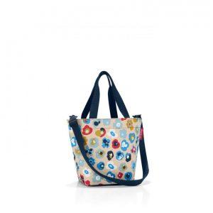 Sac modèle shopper XS motif millefleurs printemps multicolore
