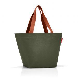 Sac modèle shopper M motif urban forest couleur vert kaki