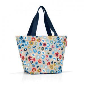 Sac modèle shopper M motif millefleurs printemps multicolore