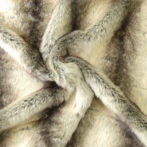 Tissu fourrure modèle huskie