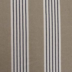 Tissu toile coton rustique, toile tissé modèle deauville couleur bleu