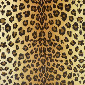 Tissu suèdine imitation peau de Léopard