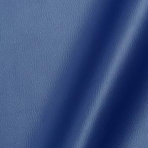 Tissu simili cuir uni couleur marine