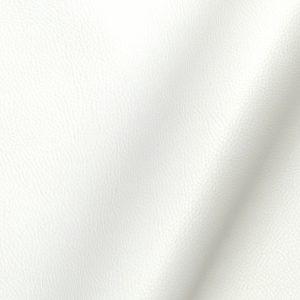 Tissu simili cuir uni couleur blanc
