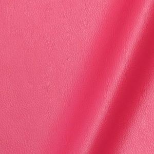 Tissu simili cuir uni couleur fuschia