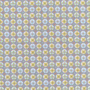 Tissu 100% coton imprimé motif avrey couleur mixte vert