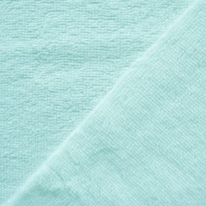 tissu microfibre eponge bambou oeko-tex coloris jade