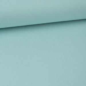 coton tissu fin uni menthe