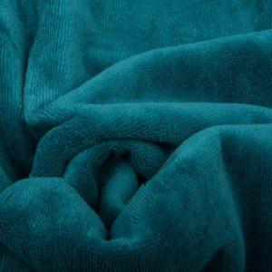 microfibre eponge bambou coloris bleu canard