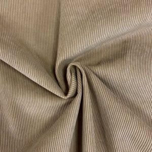 Velours côtelé modèle Starsky couleur beige ficelle