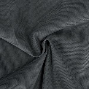 Velours côtelé modèle Starsky couleur gris bleu