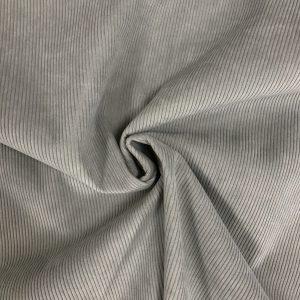 Velours cotelé modèle Starsky couleur gris perle