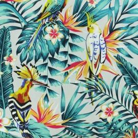 toile bachette imprimee coton grande largeur exotique