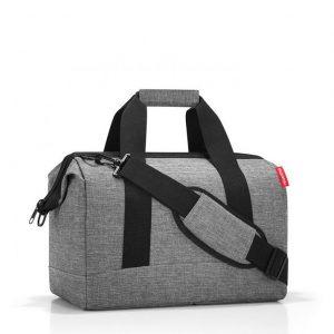 sac de voyage grand modèle reisenthel allrounder taille M twist silver