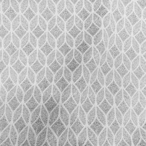 NOUMA COL GRIS CLAIR tissu jacquard en grande largeur 280cm Fabrication Française