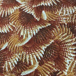 tissu coton fin doux petits motifs imprimés