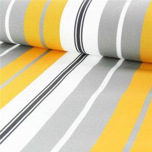toile plein air rayures multicolores traitee anti taches