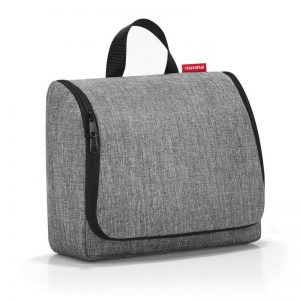 trousse de toilette reisenthel toiletbag XL coloris twist silver