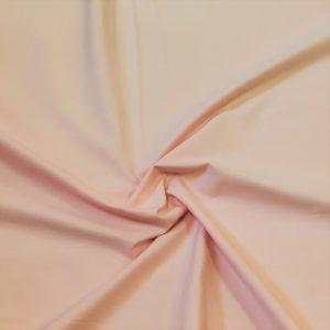 popeline de coton mercerisé coloris rose saumoné