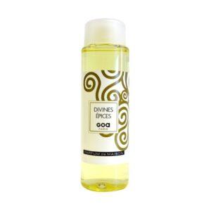 recharge pour diffuseur GOA goatier en 250ml, fabrication française, en 250ml, parfum DIVINES EPICES