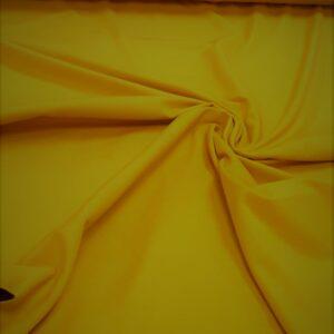 tissu coton jersey bio et oekotex coloris moutarde