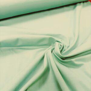tissu coton jersey bio et oekotex coloris vert menthe