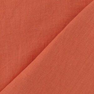 tissu 100% LIN lavé en largeur 140cm, souple et assez lourd pour vos Rideaux, Linge de Lit, Coussins