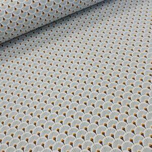 tissu coton oekotex imprimé pour coudre vêtements et petites créations Déco DIY