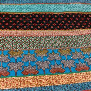 tissu ameublement REF DUBAI motif Rayures ethniques multico Spécial Sièges