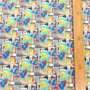 tissu coton fin, label oekotex, imprimé pour coudre vêtements et petites créations Déco DIY
